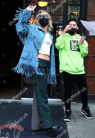 Miley Cyrus out and about, New York