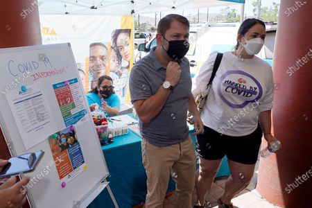 Editorial photo of Virus Outbreak Arizona, Phoenix, United States - 07 May 2021