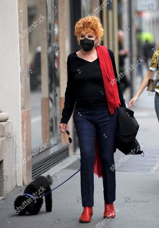 Editorial photo of Ornella Vanoni out and about, Milan, Italy - 07 May 2021