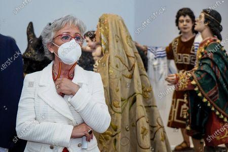 Editorial photo of 'Un siglo de esplendor' exhibition in Malaga, Spain - 07 May 2021