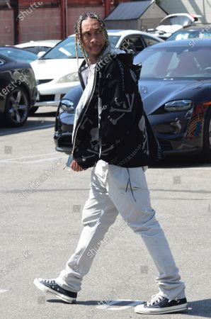 Editorial picture of Exclusive - Tyga out and about, Beverly Hills, Los Angeles, California, USA - 07 May 2021