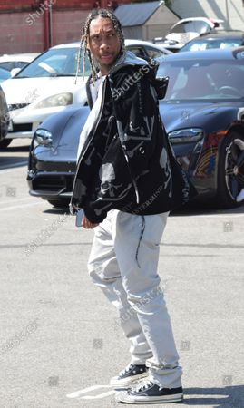 Exclusive - Tyga out and about, Beverly Hills, California USA