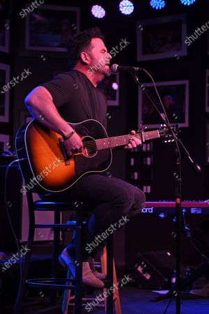 Editorial picture of David Nail in concert, The Funky Biscuit, Boca Raton, Florida, USA - 07 May 2021