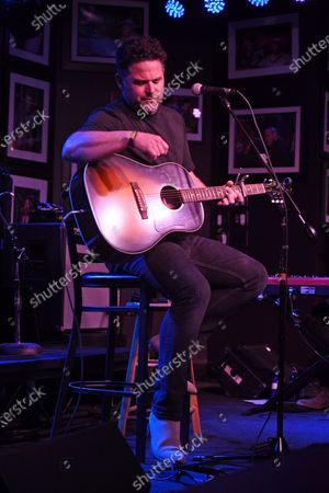 Stock Photo of David Nail performs at The Funky Biscuit