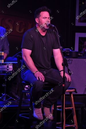 Stock Image of David Nail performs at The Funky Biscuit