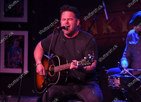 David Nail performs at The Funky Biscuit