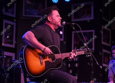 Editorial photo of David Nail in concert, The Funky Biscuit, Boca Raton, Florida, USA - 07 May 2021