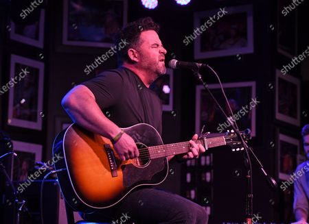 Editorial image of David Nail in concert, The Funky Biscuit, Boca Raton, Florida, USA - 07 May 2021