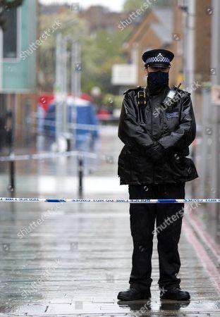Murder in Dalston, London
