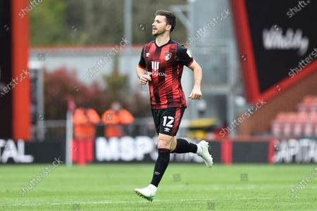 Stock Image of Shane Long (12) of AFC Bournemouth during the EFL Sky Bet Championship match between Bournemouth and Stoke City at the Vitality Stadium, Bournemouth