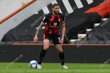 Steve Cook (3) of AFC Bournemouth during the EFL Sky Bet Championship match between Bournemouth and Stoke City at the Vitality Stadium, Bournemouth