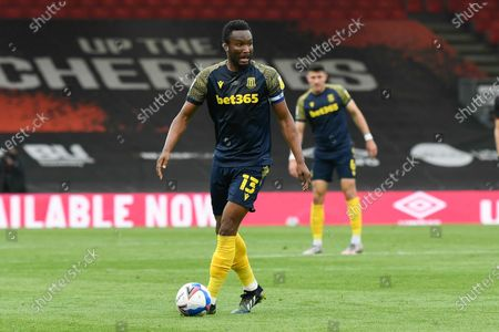 Stock Picture of Mikel John Obi (13) of Stoke City during the EFL Sky Bet Championship match between Bournemouth and Stoke City at the Vitality Stadium, Bournemouth