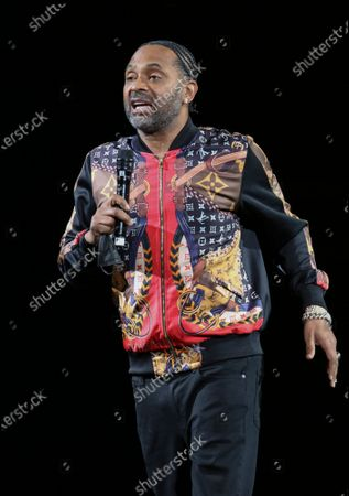 Mike Epps Performs at The In Real Life Comedy Tour at State Farm Arena, in Atlanta
