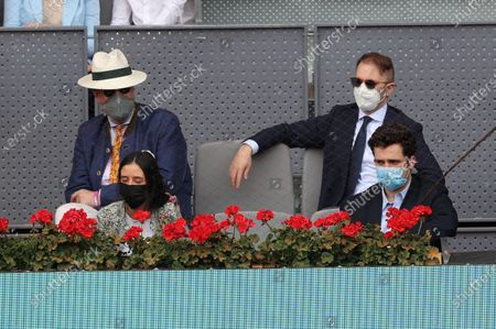 Editorial image of Madrid Open tennis tournament, Spain - 08 May 2021