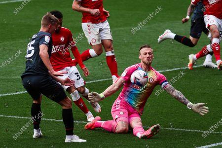 Editorial picture of Bristol City v Brentford, UK - 08 May 2021