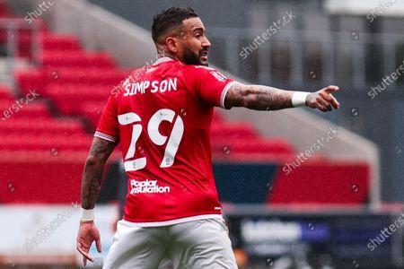 Danny Simpson of Bristol City- Mandatory by-line: Will Cooper/JMP