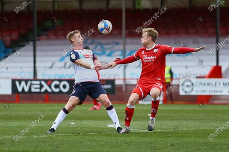 Editorial picture of Crawley Town vs Bolton Wanderers, Sky Bet EFL League 2, Football, Broadfield Stadium, Crawley, West Sussex, United Kingdom - 08 May 2021