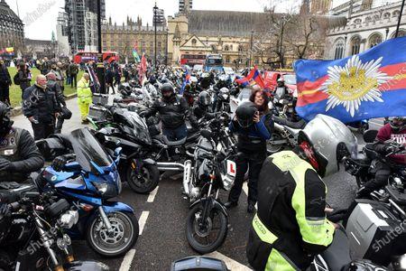 Respect our Veterans ride, London