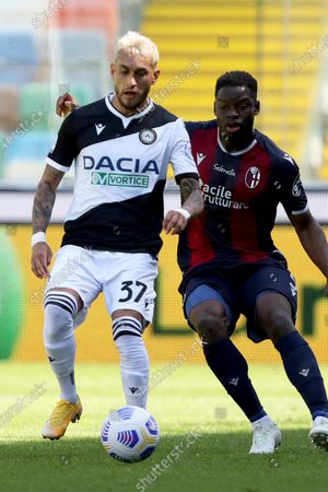 Editorial picture of Udinese vs Bologna, Udine, Italy - 08 May 2021