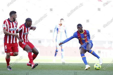 Editorial image of Soccer La Liga, Barcelona, Spain - 08 May 2021