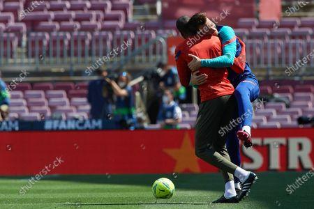 Editorial picture of FC Barcelona v Atletico de Madrid - La Liga Santander, Spain - 08 May 2021