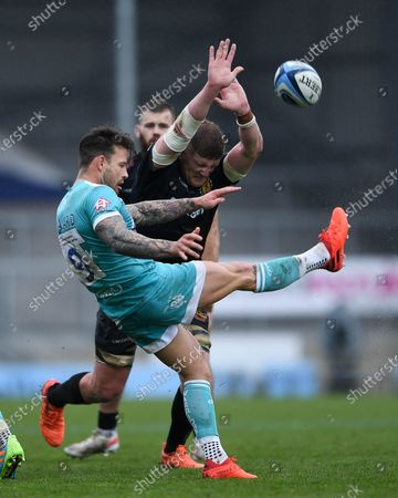 Editorial picture of Exeter Chiefs v Worcester Warriors, UK - 08 May 2021