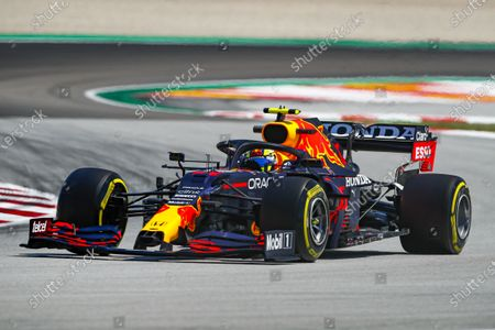11 Sergio Perez (mex), Red Bull Racing Honda RB16B, action