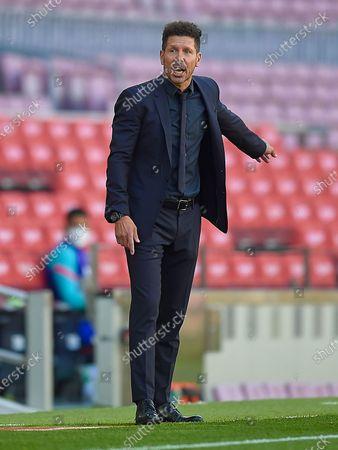 Atletico de Madrid head coach Diego Pablo Simeone