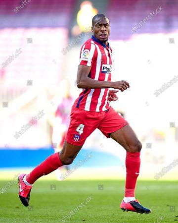 Stock Image of Geoffrey Kondogbia of Atletico de Madrid