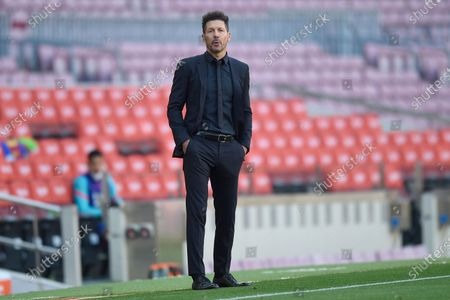 Stock Picture of Atletico de Madrid head coach Diego Pablo Simeone