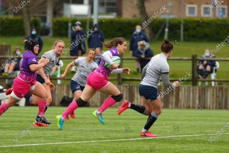 Editorial picture of Loughborough Lightning v Sale Ladies, Allianz Premier 15s Rugby match, UK - 08 May 2021
