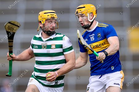 Limerick vs Tipperary. Limerick's Tom Morrissey with Jake Morris of Tipperary