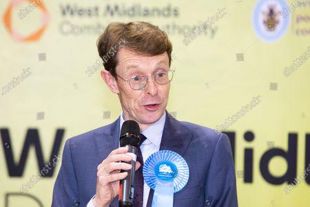 Editorial picture of Midlands Mayor, Birmingham, UK - 08 May 2021