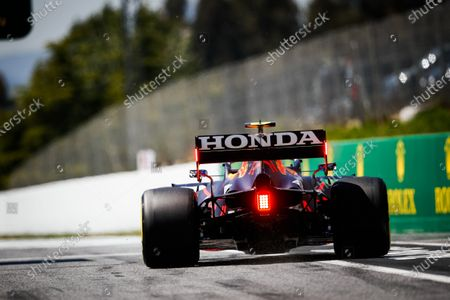 Stock Picture of 11 Sergio Perez (mex), Red Bull Racing Honda RB16B, action