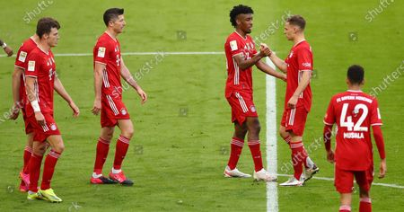 Editorial photo of FC Bayern Munich vs Borussia Moenchengladbach, Germany - 08 May 2021