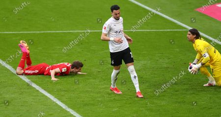 Editorial image of FC Bayern Munich vs Borussia Moenchengladbach, Germany - 08 May 2021