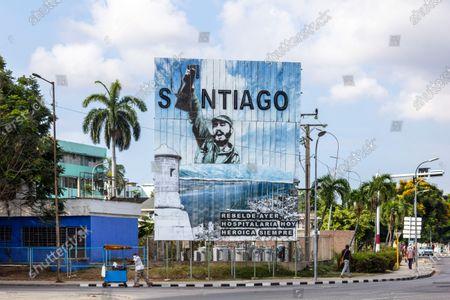 Editorial image of Daily life, Santiago de Cuba City, Cuba - 08 May 2021