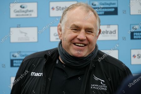Falcons Director of Rugby, Dean Richards pictured after the Gallagher Premiership match between Newcastle Falcons and London Irish at Kingston Park, Newcastle on Saturday 8th May 2021.