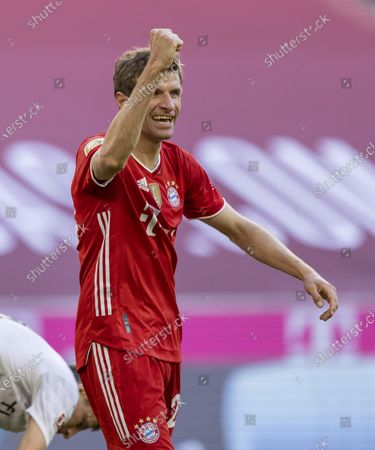 Torchebel: Thomas Müller (Munich)