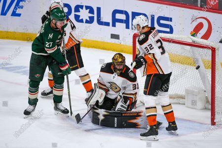 Editorial image of Ducks Wild Hockey, St. Paul, United States - 08 May 2021