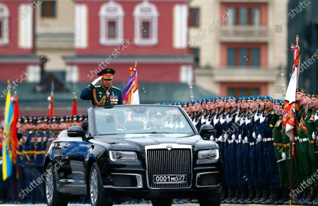 Editorial image of Russia Red Square Parade, Moscow, Russian Federation - 09 May 2021