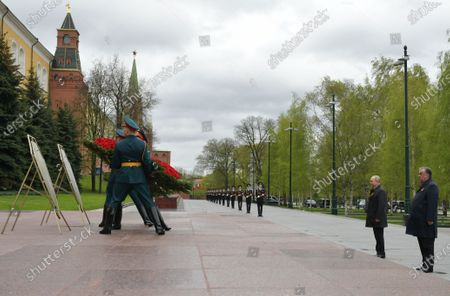 Editorial picture of Victory Day military parade in Moscow, Russian Federation - 09 May 2021
