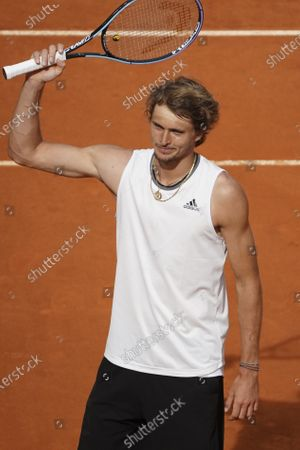Editorial image of Mutua Madrid Open - Day Ten, Spain - 08 May 2021