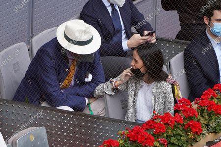 Jaime de Marichalar, Victoria Marichalar and  Felipe Marichalar attended the 2021 ATP Tour Madrid Open tennis match at the Caja Magica in Madrid on May 8, 2021 spain