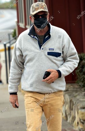 Editorial picture of Exclusive - Kevin Costner out and about, Montecito, California, USA - 08 May 2021