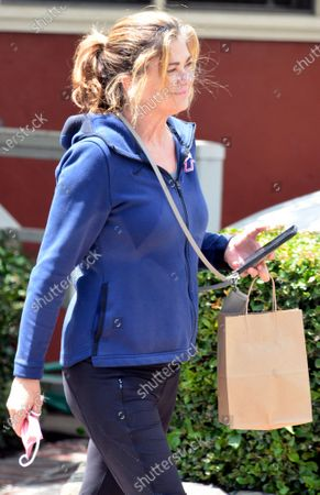 Editorial picture of Exclusive - Kathy Ireland out and about, Montecito, California, USA - 08 May 2021