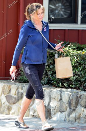 Editorial image of Exclusive - Kathy Ireland out and about, Montecito, California, USA - 08 May 2021