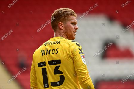 Charlton Athletic goalkeeper Ben Amos (13) during the EFL Sky Bet League 1 match between Charlton Athletic and Hull City at The Valley, London