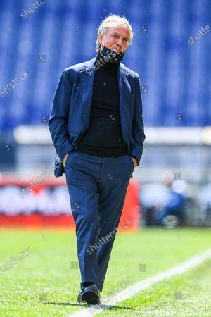 Editorial image of Genoa CFC vs US Sassuolo Calcio, Italy - 09 May 2021