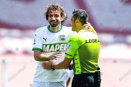 Editorial picture of Genoa CFC vs US Sassuolo Calcio, Italy - 09 May 2021